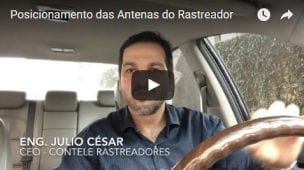 Antenas do Contele Rastreador