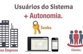 Quem pode ser um usuário do sistema de rastreamento?