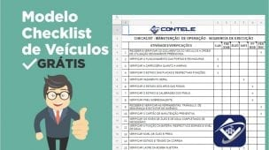 modelo de checklist contele rastreador