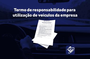 Termo de responsabilidade para utilização de veículos