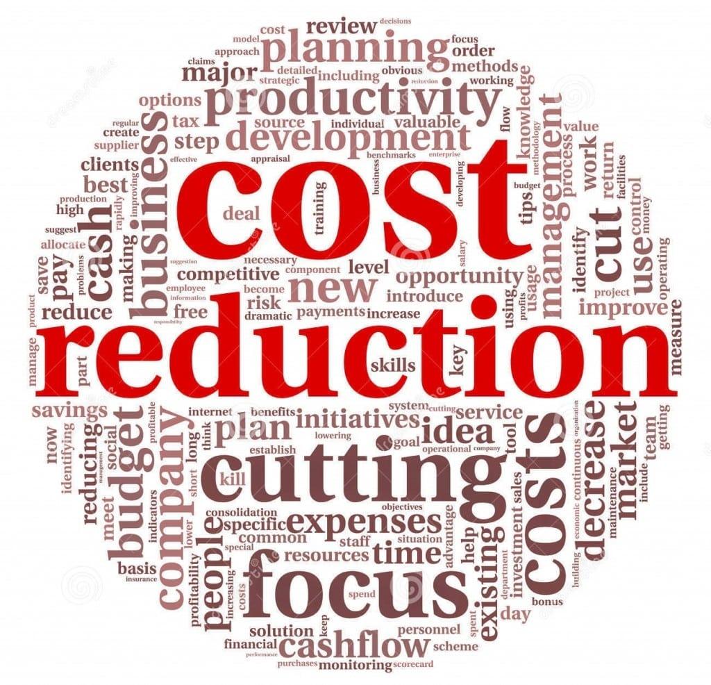 Redução de custos e aumento da produtividade.
