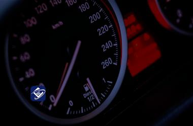 O que fazer com a informação de velocidade excedida?