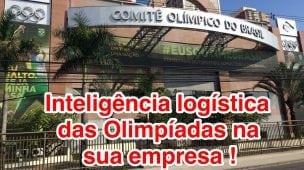 Logística nas Olimpíadas