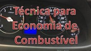 Técnica para economia de combustível