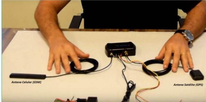 Rastreador com comunicação GSM