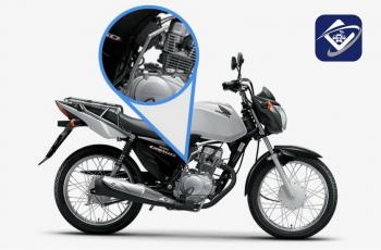 Instalação de rastreador em motos com partida pedal