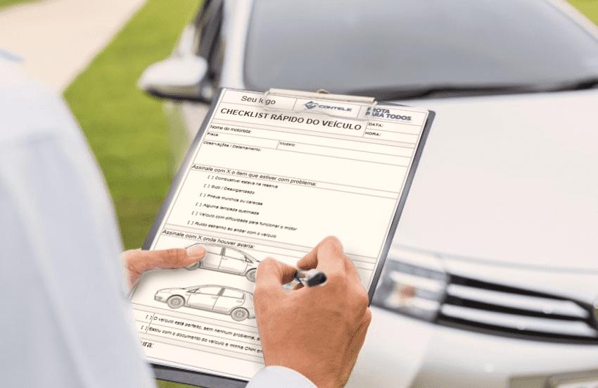 Modelo Checklist Rápido do Veículo: Use no dia a dia para reduzir gastos de manutenção